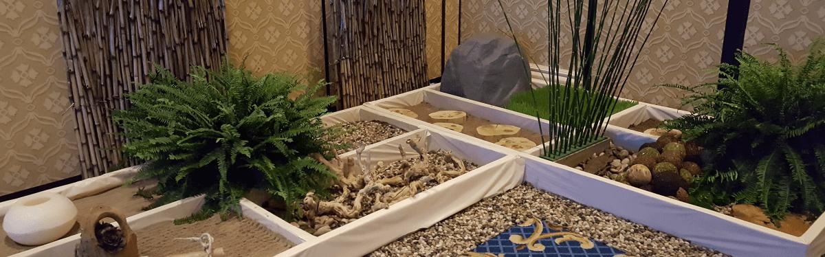 wellness meditation room