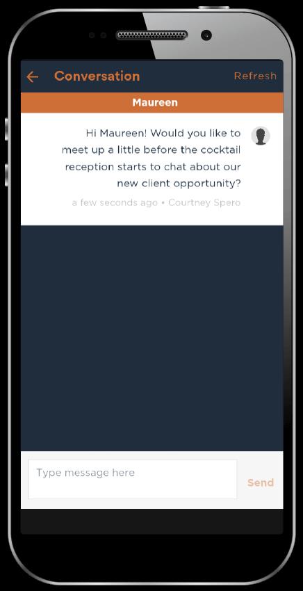 conversation eventapp