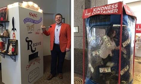 Swag Lottery Kindness Container