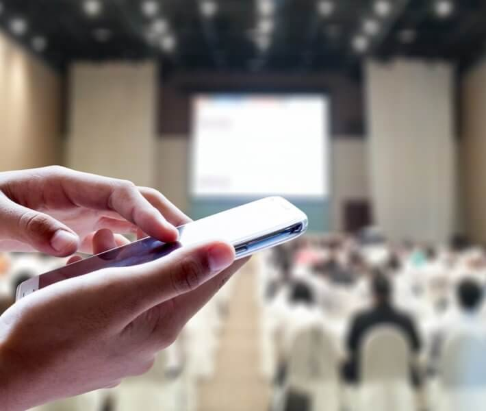 Engage participants with EventAPP mobile app at meetings and events