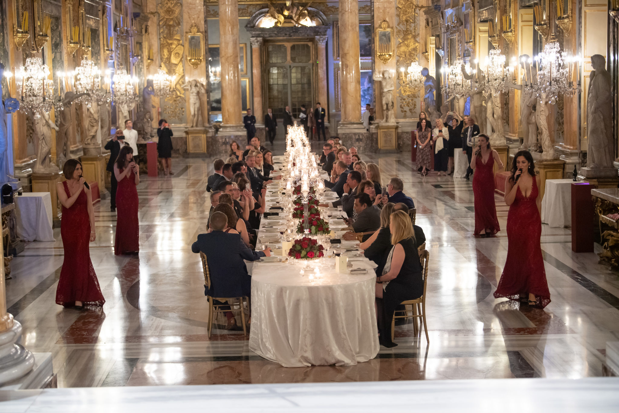 Final Dinner at Palazzo Colonna