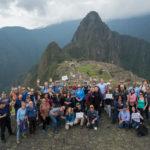 Incentive Winners at Machu Picchu