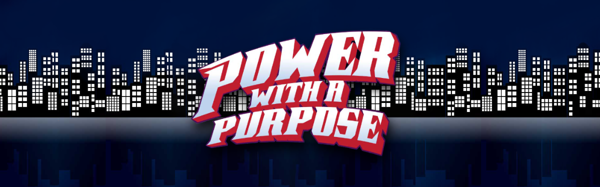 Power with a Purpose Virtual Event Banner